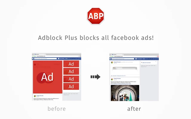 Google Chrome ekstenzija Ad Block Plus