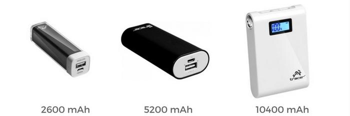 Vrste eksternih baterija