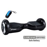 XPLORER Hoverboard City black 6""