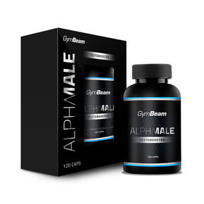 GymBeam AlphaMale TestoBooster unflavored 120 kaps