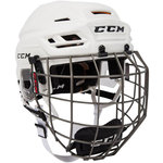 CCM Tacks 710 Helmet Combo White L