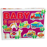 Baby Puzzle radni strojevi - D-Toys