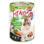 Fit Active Goose & Rabbit konzerva za mačke 415 g