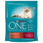 Purina ONE Sterilcat s govedinom - 3 kg