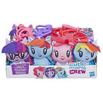 My Little Pony cutie mark crew pliš clip, sort