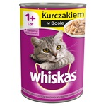 WHISKAS Adult Piletina u umaku 400g