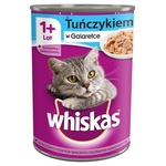 WHISKAS Adult Tuna u želeu 400g
