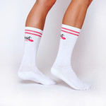 BeastPink Dokoljenke Knee High Socks White 40 - 42