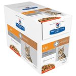 MP Hill's PD Feline k/d+Mobility Chicken - 12 x 85 g