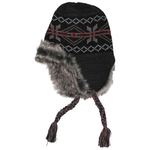 FoX Outdoor Peru Puno zimska kapa black/gray