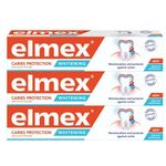 Elmex Caries Protection Whitening zubna pasta, 3x 75 ml