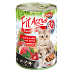 Fit Active Junior Beef & Lamb konzerva za mačke 415 g